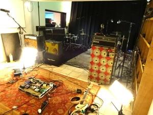 live in the studio